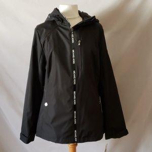 Michael Kors Black Lightweight Jacket with Hood